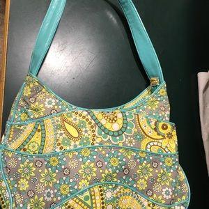 Vera Bradley Canvas Shoulder Bag